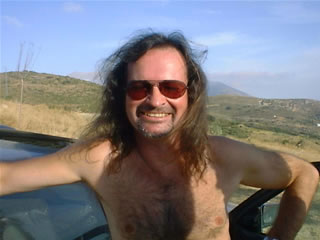 Terry Roberts at Periana Blues festival